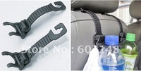 Hot selling 4pcs/lot free shipping wholesale car hook hanger for bag multifunctional&amp;amp;high quality