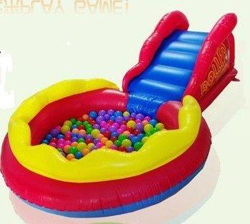 Fashion baby Inflatable folding round bathtub children swimming pool baby pleasure pool- free shiping