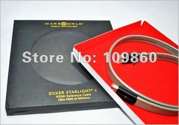 Wireworld Theater Silver Starlight 6 (SSH) 1.4 3D hdmi to hdmi cable with original box 2M