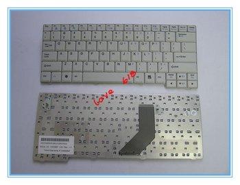 free shipping laptop keyboard for LG  E200 E300 ED310 White AEW34832819 V020967