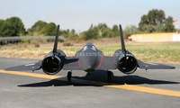 RTF Version / SR-71 RC plane / Flying weight:1050g  & Thrust > 1600g / The aircraft can high-speed flight  cool ! / Ready To Fly