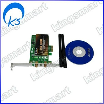 PCI Express PCI-E 11n Wireless 300M 802.11n WiFi card 80219