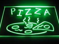B241 OPEN Hot Pizza cafe Restaurant Neon Light Sign led