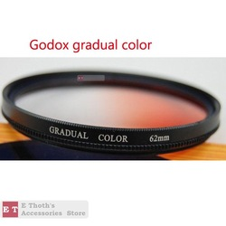 FREE SHIPPING FOR GODOX 62mm Gradual Orange Color Lens Filter WITH ORIGINAL PAKCING & TRACKING NUMBER(China (Mainland))