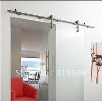 Free Shipping Modern Stainless Steel BARN DOOR HARDWARE for Glass Door,Shower Door