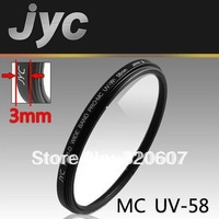 JYC 58 mm MCUV MC UV Multi Coated Ultra-Violet Filter & Free Shipping With Tracking Number