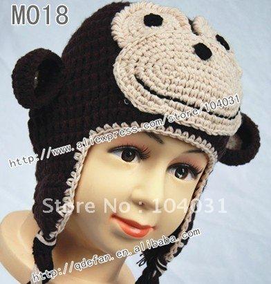 Gallery For > Crochet Monkey Hat