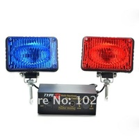 High Quality  emergency vehicle strobe lights Red/Blue (DC 12V)