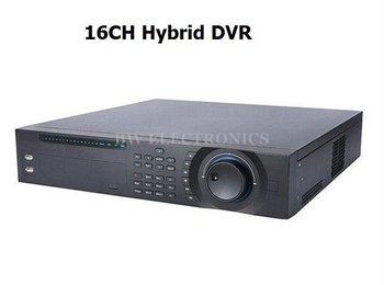 32CH Hybrid DVR 16CH IP 16CH Analog Hybrid DVR1604HF-U, New 2U 1080P Full D1 Support ONVIF And Many Brand IP Camear