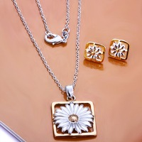 Free Shipping Wholesale 925 Sterling silver plated copper.New Arrival Necklace&Earring NE127