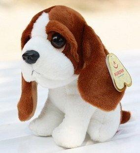 Plush toys children's toy doll birthday gift lies prone dog puppy Gou Wawa free shipping