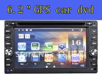 "Free shippin &  6.2"" car dvd with GPS ,RDS ,Analog TV ,FM ,USB,SD,free map"