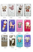 Crystal bling case cover for IPHONE 3GS/4/4S