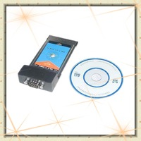 EMS free shipping for RS-232 / RS 232  PCMCIA TO RS232 card  the most reasonable price and super good quality  !