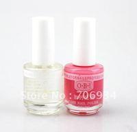 12pcs/lot 2 colors options Nail Nutrition Oil Dead Top Coat Care Nail Polish 18ml