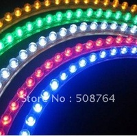 Free shipping 10pieces/lot blue/red super bright DC12V 96CM Car LED great wall strip light/led underbody light kit