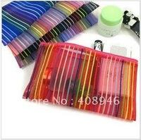 120143   Multi-function  colorful portable canvas wallet storage bag Cosmetic bag handbag