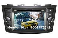 Car DVD Player Stereo for Suzuki Swift 2011-2012 with GPS, Bluetooth,TV,IPOD,9 OSD language.