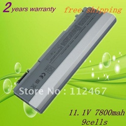 7800mAh 9cells Laptop Battery for Dell Latitude E6400 ATG XFR Precision M2400 Precision M4400 NM631 PT434 U844G+free shipping(China (Mainland))