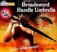 Distribution box  Creative umbrella  Sunshade   Cross sword umbrella   Samurai umbrella