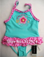 Free Shipping  Girl's swimwear  one pieces   Baby swimsuit 0-18 months