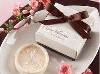 Free shipping- Wedding favors and  gifts / flower design bridal soaps / wholesale
