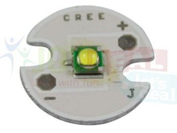 Freeshipping! 5PCS Cree Single-die XPG R5 White LED Light Emitter mounted on 16mm PCB