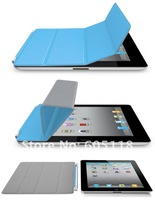free shipping Magnetic Slim PU Leather Smart Cover Stand Holder Protevtive Case for iPad 2 3 2nd 3rd Gen Blue lowest price