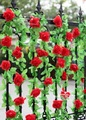 Hot selling! RED Hanging Artificial Flower Vine Wedding Party Decor