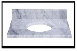 kungfu stone supply White marble Vanity top + kitchen or bathroom use+fine shipping cost(China (Mainland))