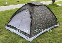 High Quality camouflage Tent 2 Person single Layer Tent