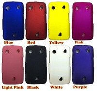 hot sell  free shipping  20pcs/lot Rubber Hard Back Cover Case for Sony Ericsson Mix Walkman WT13i