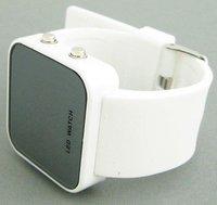 luxury watches Jelly Digital Watch Mirror LED watch men's watch women's watch ODM Unisex new W013 1pcs/lot