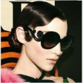 Free shipping++2012 Sunglasses, Most fashion Baroque Vintage Round Shape Sunglass,lady gaga Balrog style