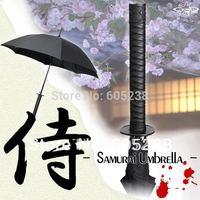 EMS Free Shipping 10 pcs/lot Wholesale Japanese Samurai Ninja Katana Umbrella Samurai Umbrella