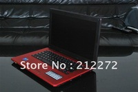 14 inch Intel Atom D2500 Notebook Laptop computer 1G/160G Dual Core with DVD-ROM(L700 Dual Core) Wifi Build in HDMI Black Red
