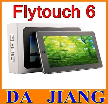 "Hot Sale ! 10"" flytouch 6 3 7 8  Android4.0 superpad VI 4G 8G 16G  VC882 1GHz Cortex A8 GPS WIFI camera tablet pc"