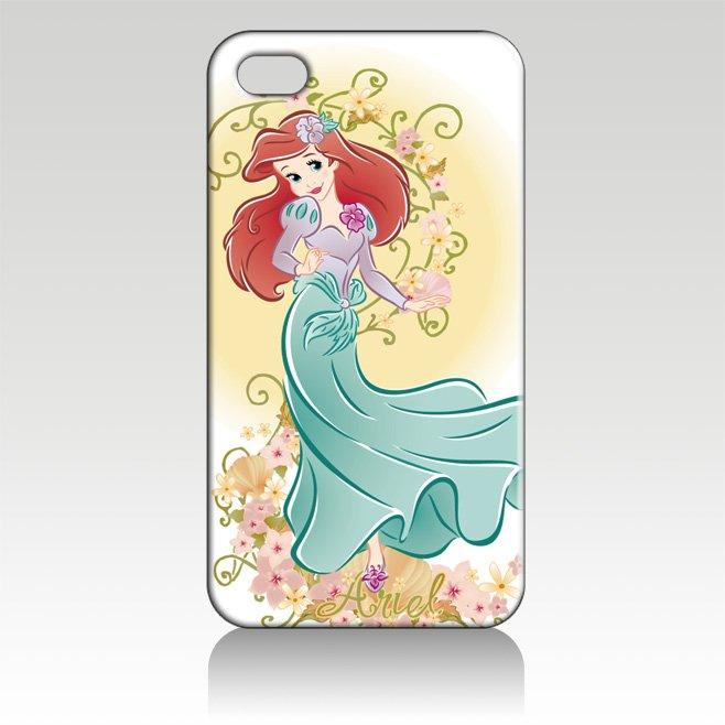 Чехол для для мобильных телефонов Luxury New Hot design cover case for iphone 4 4s 10pcs/lot to US IZC1070 ARIEL THE LITTLE MERMAID