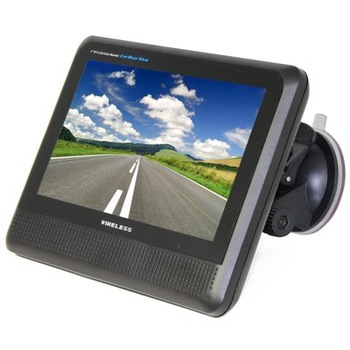 5pcs 7 inch TFT LCD monitor New 2.4GHz Wireless car rear view camera system