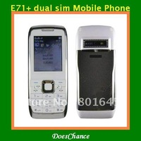 E71+ Russian menu quad band dual sim unlocked phone