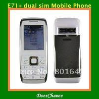 E71+ Russian menu quad band dual sim unlocked phone