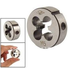 M5 20mm OD 0.8mm Pitch Coarse Thread Tool Circular Screw Die 10 Pcs