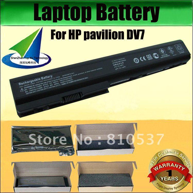 Laptop Battery For hp Pavilion Dv7 For hp Pavilion Dv7 Series Laptop Battery 1 Year Warranty 100 Brand New