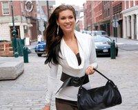 2012 Hot Sale  Fashion Casual  women Shoulder bag Vintga  lady bag  gry brown black 3 colour  free shipping