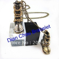 Freeshipping  20pcs a lot  high quality mix diff stylesunique  ancients style necklace Vintage Bronze jewely pendant F235
