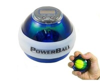 Free Shipping!! Power Gyroscope LED Wrist Strengthener Ball+SPEED METER/ Powear Grip Ball/ Power Ball