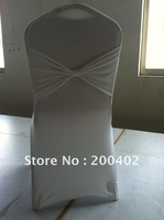 free shipping new design  spandex chair cover with bow /lycra chair cover with bow at back