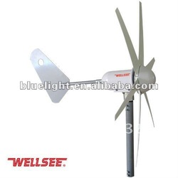 WELLSEE residential wind turbine WS-WT300W (6 leaves Wind Turbine/ A horizontal axis wind turbine)(China (Mainland))