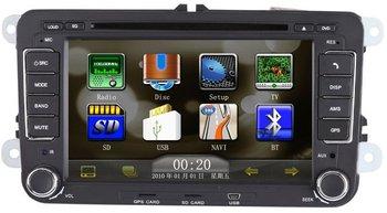 VW Magotan/Sagitar/TIguan/Passar Car DVD GPS Player/Car Multimedia player with Free Camera& Free shipping&free Analog TV