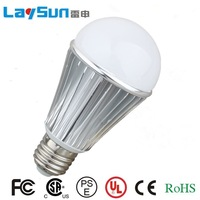 Ultra bright LED bulb 6W High power E27 110-220V Warm White light LED lamp with 180 degree Spot light Free shipping